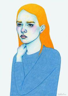 portrait by Natalie Foss