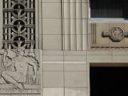 architecture art deco carving