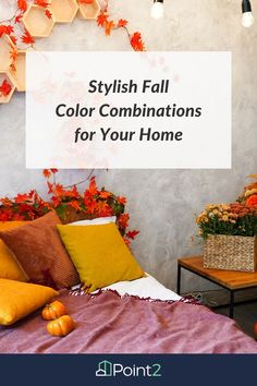 Do you love the change of seasons because it offers an opportunity to update your home decor? Are you looking for a change from the traditional red, orange and gold fall color palette provided by nature? If you're longing for something a little fresh and different this year, we've got you covered.