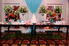 Cores do casamento: branco e azul Tiffany