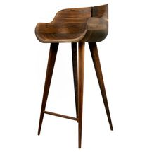 Gorgeous stool, but a modern piece produced today with mid-century styling, not from the actual period.