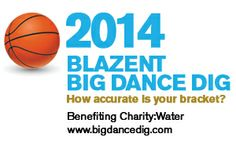 Raise money for Charity Water while cheering on your favorite NCAA team during March Madness!