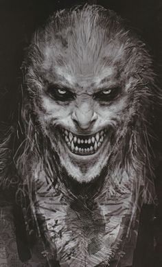 doyouspeakwerewolf:  concept art of Fenrir Greyback by Rob Bliss for, Harry Potter and the Half Blood Prince