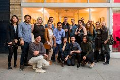 The Moleskine Project book signing/opening night crew! Moleskine V now on view until April 23rd.