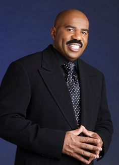 """Steve Harvey - """"God blesses us to become a blessing"""", Famous Faces, Role Models, Black Hollywood, Debonair, Steve Harvey, Black Dude, Comedians, Steve, Well Dressed Men"""
