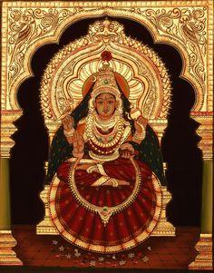 Indian Art Paintings, Easy Paintings, Beautiful Paintings, Mysore Painting, Tanjore Painting, Ganesha Painting, Lord Shiva Painting, Rangoli Side Designs, Scratchboard Art