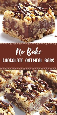 No bake chocolate oatmeal bars dapur simbah easy no bake cheesecake bites 13 Desserts, Cookie Desserts, Delicious Desserts, Yummy Treats, Sweet Treats, Yummy Food, East Dessert Recipes, Healthy Food, Easy Chocolate Desserts