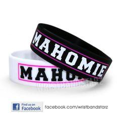 Mahomie bracelet wristband Austin Mahone by WristBandStarz on Etsy, $6.90