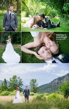 memory montage photography - BLOG: Mountain wedding in Leavenworth - Boone and Amanda Davis