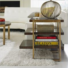 Crestaire - Autry End Table in Porter - 436-15-08 - living room - Stanley Furniture - modern furniture