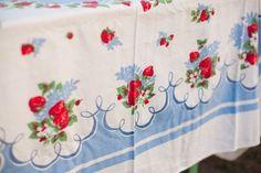 vintage tablecloths - Google Search