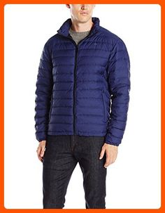Calvin Klein Men's Classic Packable Down Jacket, Navy Melange, X-Large - Mens world (*Amazon Partner-Link)