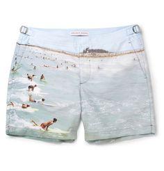 Orlebar Brown Bulldog Mid-Length Printed Swim Shorts   MR PORTER