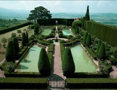 Villa Gamberaia in Florence, Italy