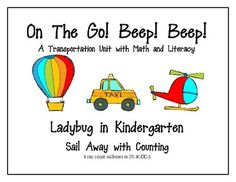 On the Go Transportation Unit is a Balanced Literacy and Math Unit aligned with Common Core Standards for Kindergarten. Each printable contains t...