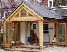 Oak frame garden room with bifold doors Now You Can Build ANY Shed In A Weekend Even If You've Zero Woodworking Experience!