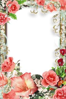 Rose Frame, Flower Frame, Picture Borders, Boarders And Frames, Page Borders Design, Photo Frame Design, Birthday Frames, Borders For Paper, Decoupage Vintage