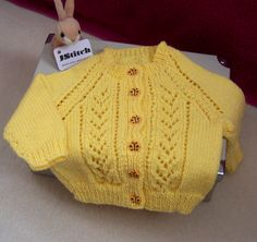 Hand Knitted Babies Cardigan, Knitted babies cardigan, Hand made babies wear, Girls clothing, Baby clothes, Girls knitted clothes, Babywear by Jstitchuk on Etsy