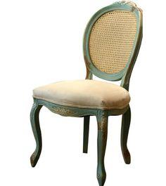 Cadeira medalhão- perfeita!!