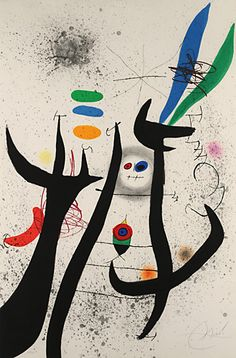 Joan Miró (Catalan 1893~1983)