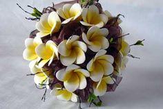 Frangipani floral bouquet