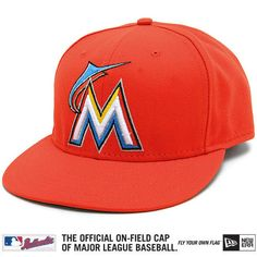 Miami Marlins Authentic 2012 Road Performance 59FIFTY On-Field Cap