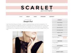 Scarlet Wordpress Theme - 17th Avenue Shop