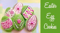 Easter Egg Cookies. - YouTube
