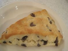 This is my favorite Chocolate Chip Scone recipe and it is SO EASY!