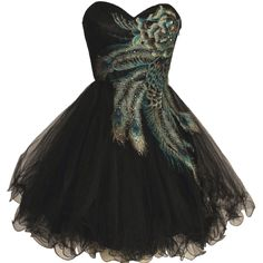 This would make a great prom dress I'd say