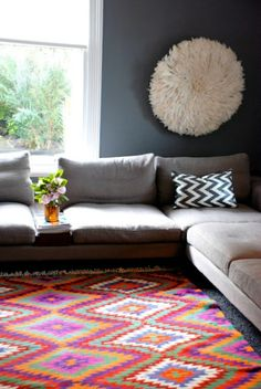 7 Rug Designs That Will Liven Up Your Living Room - Sofa Workshop