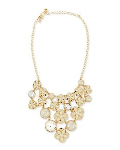 window seat bouquet bib necklace  by kate spade new york at Neiman Marcus.