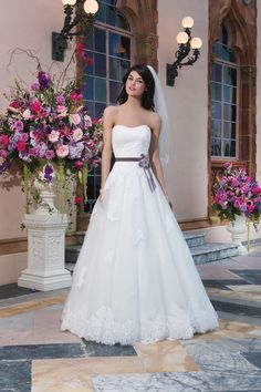 9 dreamy dresses for princess brides from Sincerity - Style 3832 Available at Adore Bridal Boutique www.adorebridalga.com