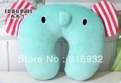SAN X stuffed animal Sentimental Circus member Elephant plush neck pillow u … – Neck Pillow