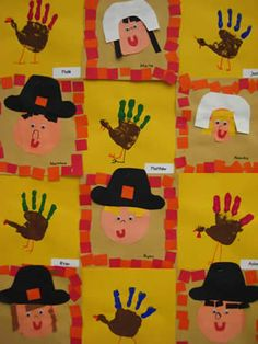 1000 images about preschool fall thanksgiving on for November crafts for kindergarten