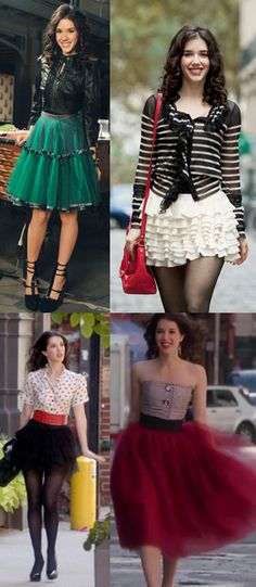 I'd like to thank the stylists of #JaneByDesign from bringing tulle skirts back