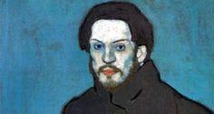 Zelfportret - 1901 - Pablo Picasso