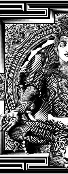 """""""Shiva 4"""" by Myoshka.jp                                                                                                                                                     Más"""