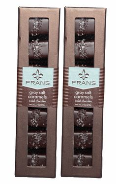 Gray Salt Caramels from Fran's Chocolates