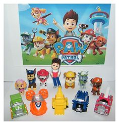 Nickelodeon PAW Patrol Deluxe Mini Figure Toy Play Set with Ryder Marshall Chase Skye Zuma 5 Pup House Vehicles and More! Paw Patrol Playset, Paw Patrol Party, Paw Patrol Mini Figures, Paw Patrol Cake Toppers, Paw Patrol Pups, Christmas Toys, Classic Toys, Cool Toys, Special Gifts