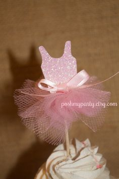 Set of 12 Mini Ballerina Tutu Dancer Party by PoshMyParty on Etsy