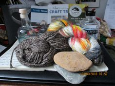 Wool, gin and archaeology from Orkney - love it!