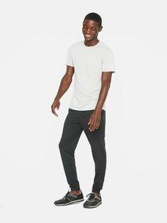 e1b939d9d06 Minimalist men black pants | Minimalist men white t-shirt | Minimalist men  style