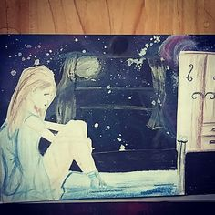 When you dream and the universum flows in your room ☆