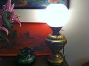 Art Nouveau Table Lamp in Brass *French* 1890