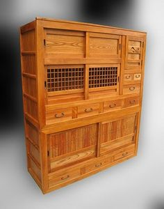 Japanese mizuya kitchen tansu at www.Jcollector.com