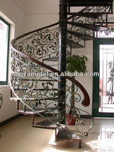 Wrought iron spiral staircase luxury $50~$300