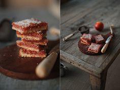 Blood Orange Bars via Athena Plichta Photography #recipe