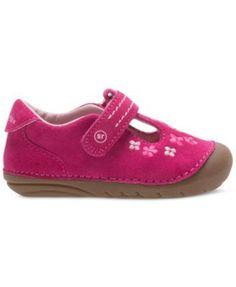 Stride Rite Soft Motion Tonia T-Strap Shoes, Baby Girls (0-4) & Toddler Girls (4.5-10.5) - Pink 4.5W