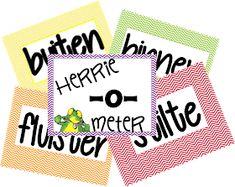 voor de groep: Herrie-o-meter